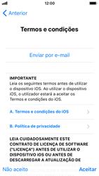 Apple iPhone 5s - iOS 11 - Primeiros passos - Como ligar o telemóvel pela primeira vez -  20