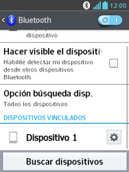 LG Optimus L3 II - Bluetooth - Conectar dispositivos a través de Bluetooth - Paso 9