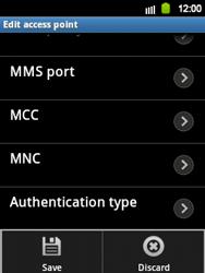 Samsung S5360 Galaxy Y - Internet - Manual configuration - Step 10