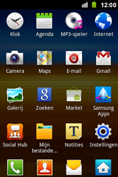 Samsung S7500 Galaxy Ace Plus - Voicemail - handmatig instellen - Stap 4