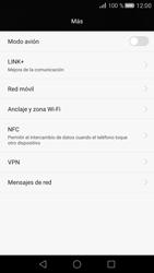Huawei P8 - Mensajería - Configurar el equipo para mensajes multimedia - Paso 4