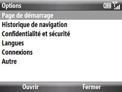 HTC S521 Snap - Internet - Configuration manuelle - Étape 12