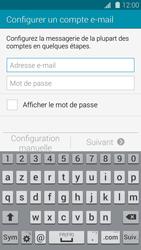Samsung G901F Galaxy S5 4G+ - E-mail - Configuration manuelle - Étape 5