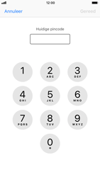 Apple iPhone 6s met iOS 11 (Model A1688) - Beveiliging en ouderlijk toezicht - Hoe wijzig ik mijn SIM PIN-code - Stap 6