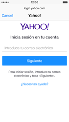 Apple iPhone SE - E-mail - Configurar Yahoo! - Paso 6