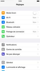 Apple iPhone 6 iOS 8 - Wifi - configuration manuelle - Étape 2