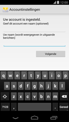Google Nexus 5 - E-mail - Handmatig instellen - Stap 21