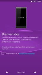 Sony Xperia Z3 - Primeros pasos - Activar el equipo - Paso 4