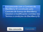 BlackBerry 9620 - Primeiros passos - Como ativar seu aparelho - Etapa 12