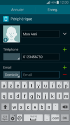 Samsung Galaxy Alpha - Contact, Appels, SMS/MMS - Ajouter un contact - Étape 11