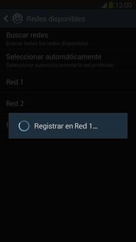 Samsung Galaxy Note 3 - Red - Seleccionar una red - Paso 10