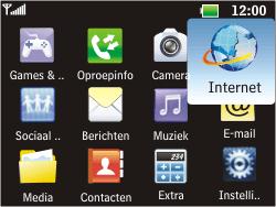 LG C360 Golf - Internet - Hoe te internetten - Stap 2