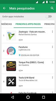 Motorola Moto Z2 Play - Aplicativos - Como baixar aplicativos - Etapa 9