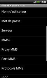 HTC A8181 Desire - Internet - Configuration manuelle - Étape 9