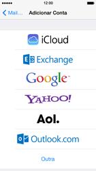 Apple iPhone iOS 7 - Email - Como configurar seu celular para receber e enviar e-mails - Etapa 5