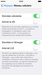 Apple iPhone 5s (iOS 8) - Aller plus loin - Désactiver les données à l'étranger - Étape 4
