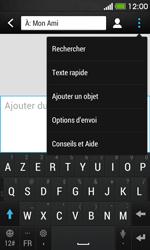 HTC Desire 500 - MMS - envoi d'images - Étape 7