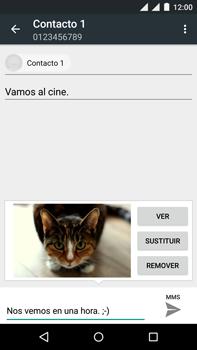 Motorola Moto X Play - Mensajería - Escribir y enviar un mensaje multimedia - Paso 17