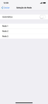 Apple iPhone XR - Rede móvel - Como selecionar o tipo de rede adequada - Etapa 6