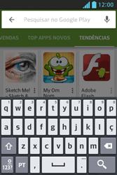 LG E612 Optimus L5 - Aplicativos - Como baixar aplicativos - Etapa 14