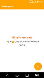 LG K4 (2017) - Mensajería - Escribir y enviar un mensaje multimedia - Paso 3