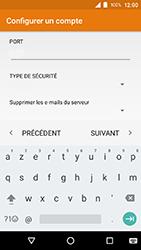 Crosscall Action X3 - E-mails - Ajouter ou modifier un compte e-mail - Étape 16