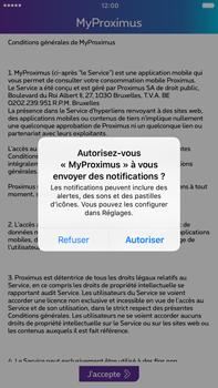 Apple Apple iPhone 6s Plus - iOS 10 - Applications - MyProximus - Étape 12