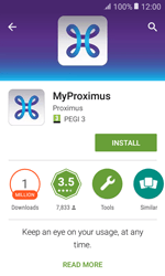 Samsung Galaxy Xcover 3 VE - Applications - MyProximus - Step 7