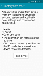 Samsung A300FU Galaxy A3 - Device - Reset to factory settings - Step 7