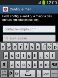 Samsung Galaxy Pocket Neo - Email - Adicionar conta de email -  5