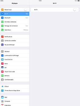 Apple iPad Pro 12.9 (1st gen) - iOS 10 - WiFi et Bluetooth - Configuration manuelle - Étape 4