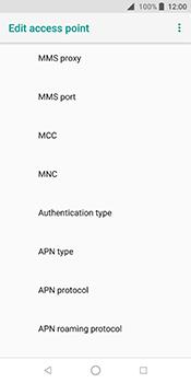 ZTE Blade V9 - MMS - Manual configuration - Step 11