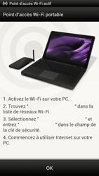 HTC One S - Internet et connexion - Partager votre connexion en Wi-Fi - Étape 11