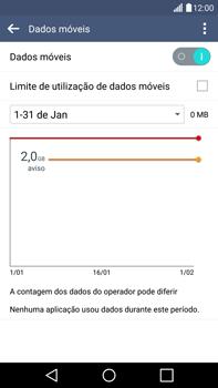 LG G4 - Internet no telemóvel - Como ativar os dados móveis -  6