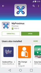 LG X Screen - Applications - MyProximus - Step 9