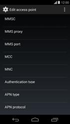 Motorola Moto G - Mms - Manual configuration - Step 12