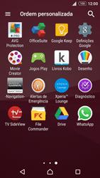 Sony Xperia Z3 Plus - Aplicações - Como configurar o WhatsApp -  4