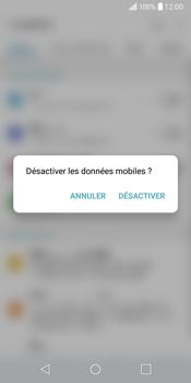 LG Q6 - Internet - Activer ou désactiver - Étape 4