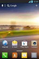 LG E610 Optimus L5 - Internet - automatisch instellen - Stap 1