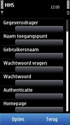 Nokia N8-00 - MMS - handmatig instellen - Stap 16