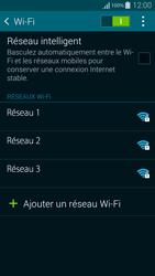 Samsung Galaxy Alpha - WiFi et Bluetooth - Configuration manuelle - Étape 6