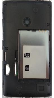 Nokia Lumia 520 - Primeros pasos - Quitar y colocar la batería - Paso 5