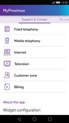 Huawei P8 - Applications - MyProximus - Step 23