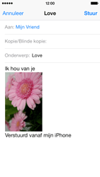 Apple iPhone 5c - E-mail - E-mails verzenden - Stap 14