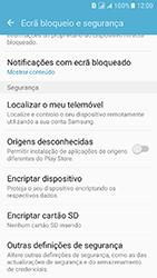 Samsung Galaxy J5 (2016) DualSim (J510) - Segurança - Como ativar o código PIN do cartão de telemóvel -  5