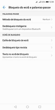 Huawei Y6 (2018) - Segurança - Como ativar o código de bloqueio do ecrã -  5