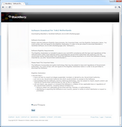 BlackBerry 9800 Torch - Software - installeer firmware update - Stap 4