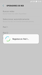Samsung Galaxy S6 - Android Nougat - Red - Seleccionar una red - Paso 10
