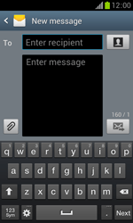 Samsung S7560 Galaxy Trend - Mms - Sending a picture message - Step 4