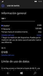 Microsoft Lumia 950 - Internet - Ver uso de datos - Paso 16